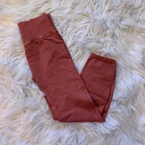 NEW Free People good karma leggings in dried rose